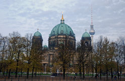 berlin berliner dom Fotografia Royalty Free