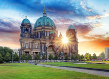Berlin, Berliner dom Stock Photos