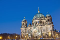 berlin berliner domkyrkadom germany royaltyfri foto