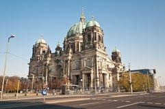 berlin berliner domkyrkadom germany royaltyfria bilder