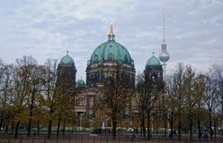 berlin berlinerdom Royaltyfri Fotografi