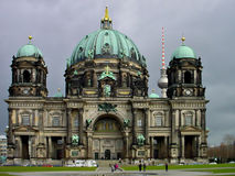 berlin berlinerdom Royaltyfria Bilder