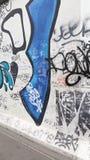 Berlin berlinwall eastvswest stock image