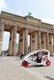 Berlin Bike Taxi Photos libres de droits