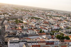 Berlin bird's-eye view Stock Photos
