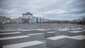 berlin blockerar center konkret olik whit för monument för germany kickförintelse fotografering för bildbyråer
