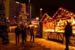 berlin bożych narodzeń rynek Zdjęcia Royalty Free