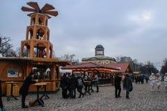berlin bożych narodzeń rynek Niemcy zdjęcia stock
