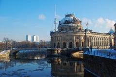 berlin bode зима музея Стоковая Фотография RF