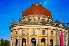 Berlin bode museum dome Germany. Berlin bode museum dome in Germany Stock Images
