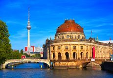 Berlin bode museum dome Germany. Berlin bode museum dome in Germany Royalty Free Stock Photography