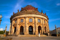 Berlin bode museum dome Germany. Berlin bode museum dome in Germany Royalty Free Stock Photos