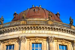 Berlin bode museum dome Germany. Berlin bode museum dome in Germany Stock Photo