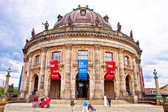 Berlin, Bode Museum on the Museum island. The Museum was completed in 1904 and took its name from the first curator Wilhelm von Bode. The Bode Museum is famous Stock Photos