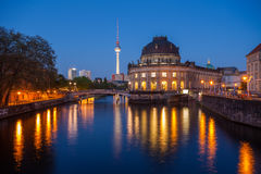Berlin Bode Museum stock images