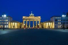 berlin brama Brandenburg Obraz Royalty Free