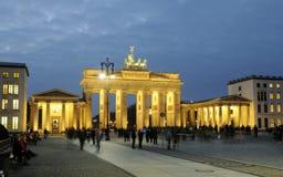 berlin brama Brandenburg Zdjęcia Royalty Free