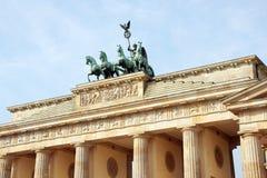 berlin brama Brandenburg Fotografia Stock