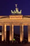 berlin Brandenburg bramy quadriga obrazy royalty free