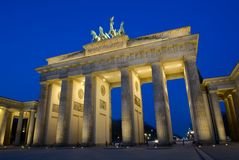 Berlin : Brandenburg Gate Stock Photography