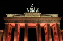 Berlin Brandenburg Gate Royalty Free Stock Photography