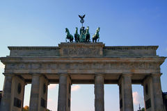 Berlin. Brandenburg Gate. Travel in Germany, Berlin. Brandenburger Tor (Brandenburg Gate Royalty Free Stock Image