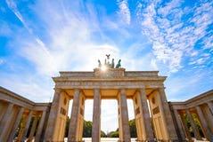 Berlin Brandenburg Gate Brandenburger Tor photos libres de droits