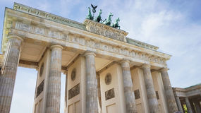 Berlin Brandenburg Gate Brandenburger Tor, Berlin, Germany stock photos