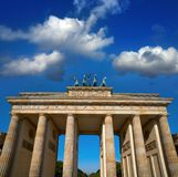 Berlin Brandenburg Gate Brandenburger Tor. In Germany Royalty Free Stock Photo