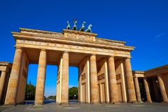 Berlin Brandenburg Gate Brandenburger Tor. In Germany Royalty Free Stock Photos
