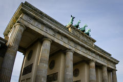 Berlin Brandenburg gate. (Brandenburger Tor), Germany Stock Image