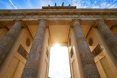 Berlin Brandenburg Gate Brandenburger Tor. In Germany Royalty Free Stock Photography