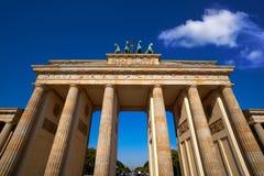 Berlin Brandenburg Gate Brandenburger Tor. In Germany Stock Image
