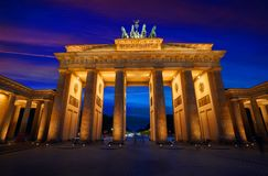 Berlin Brandenburg Gate Brandenburger Tor Stock Photos
