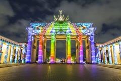 Berlin Brandenburg gate Brandenburger Tor at sunset Royalty Free Stock Images