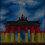 Berlin - Brandenburg Gate - Royalty Free Stock Photos