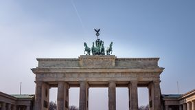 Berlin Brandenburg Gate stock images