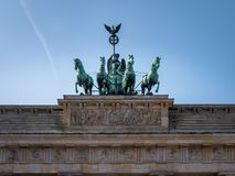 Berlin Brandenburg Gate royalty free stock photography