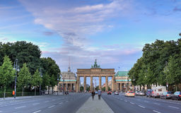 Berlin, Brandenburg Gate stock image