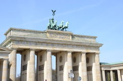 Berlin brandenburg gate Royalty Free Stock Photo