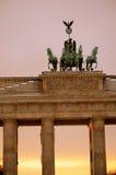 Berlin. Brandenburg Tor (Gate) detail Stock Images