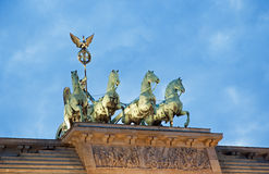 Berlin Brandenburger gate Royalty Free Stock Photography