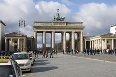 Berlin Brandenburger port Stock Photos