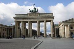 Berlin Brandenburger port Royalty Free Stock Photo