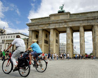 berlin brandenburger tor Obrazy Stock