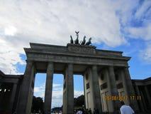Berlin. The Brandenburger Tor at the big City Berlin Stock Photography