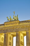 berlin brandenburgergermany tor royaltyfri foto