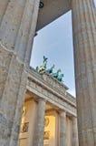 berlin brandenburgergermany tor fotografering för bildbyråer