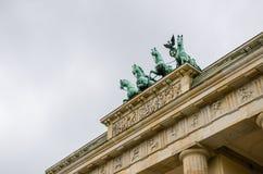 berlin Brandenburgii bramy Obrazy Stock