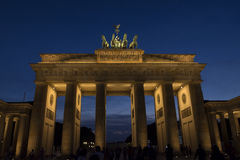 berlin Brandenburgii bramy Zdjęcie Royalty Free